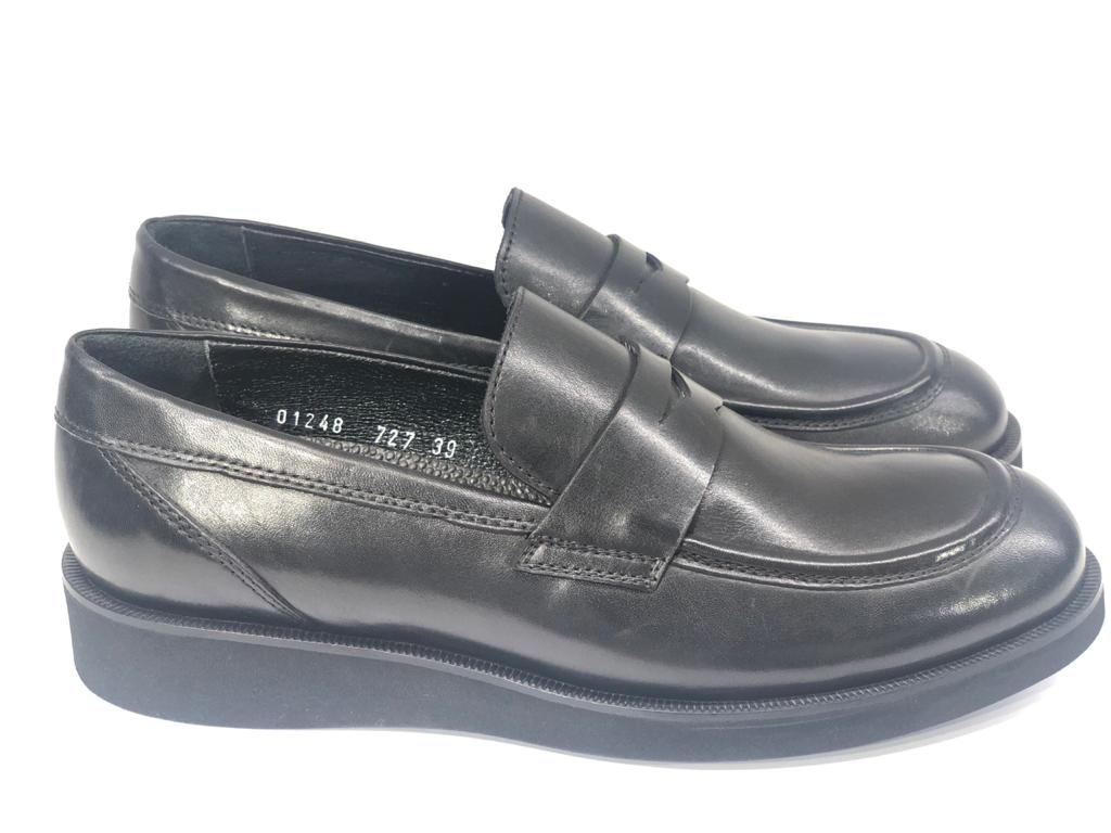 Pedro, Black Classical Loafer
