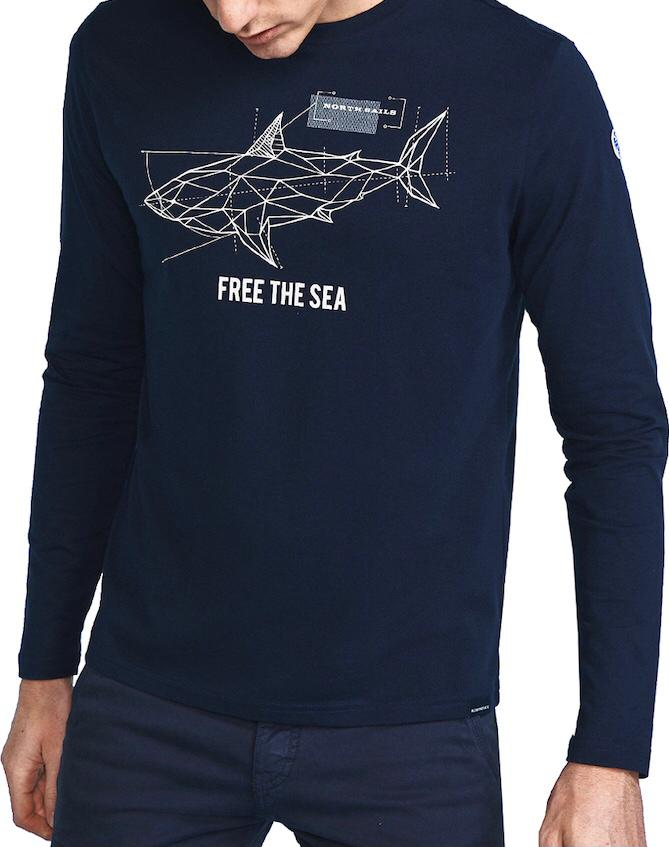 North Sails, Tshirt With Graphic