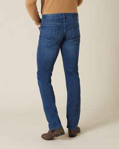 7 For All Mankind,Standard Luxe Performance Plus Mid Blue
