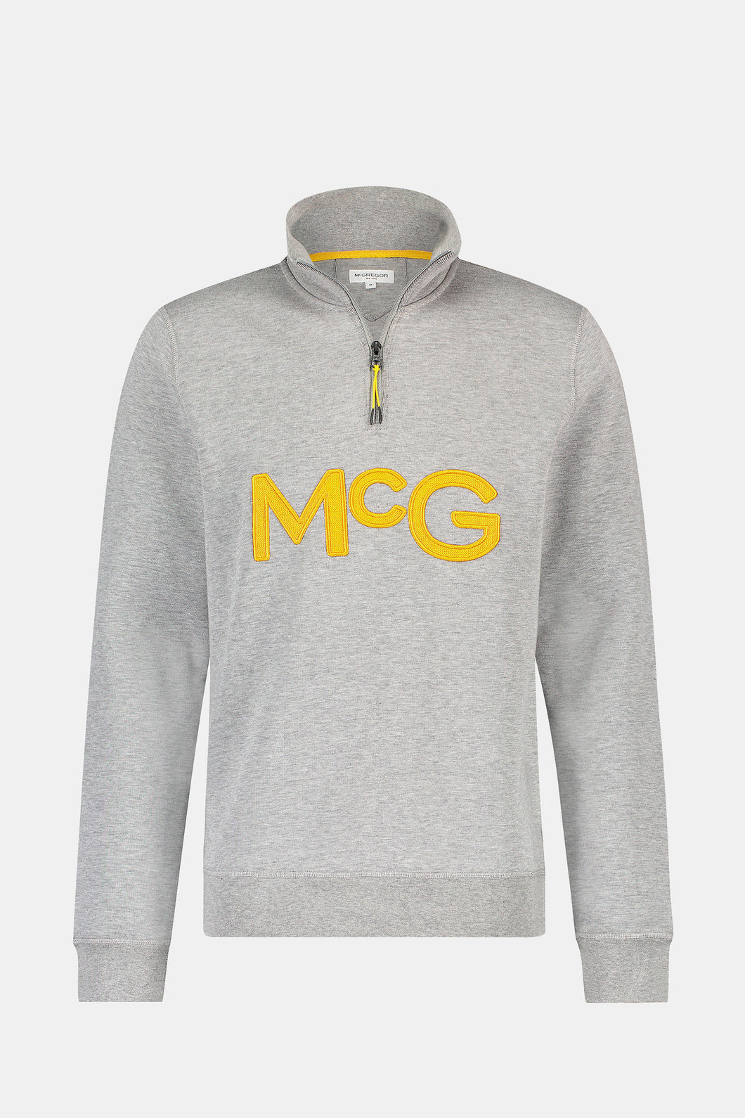 McGregor,Double Face Zip Mock Sweat