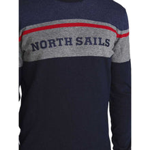Load image into Gallery viewer, North Sails Striped Round Neck Pull Over