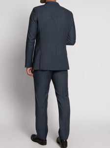 Strellson Allens Grey Blue Slim suit