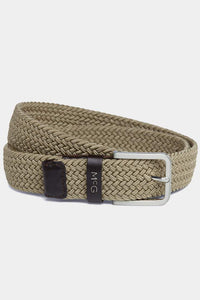 McGregor, Off white Braided Belt