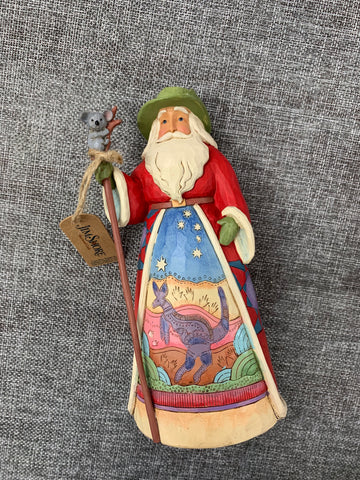 Large Australian Santa - Jim Shore Decoration