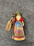 Small Australia Santa - Jim Shore Hanging Decoration