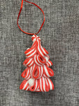 Candy Cane Tree Red - Hanging Decoration