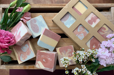 Floral Collection - Box of 6 Soaps
