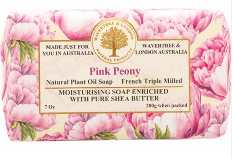 Pink Peony - Wavertree and London Soap
