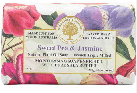 Sweet Pea and Jasmine - Wavertree and London Soap
