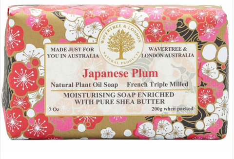 Japanese Plum - Wavertree and London Soap