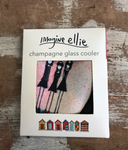 "Champagne Glass Cooler ""attitude"" - Imagine Ellie"