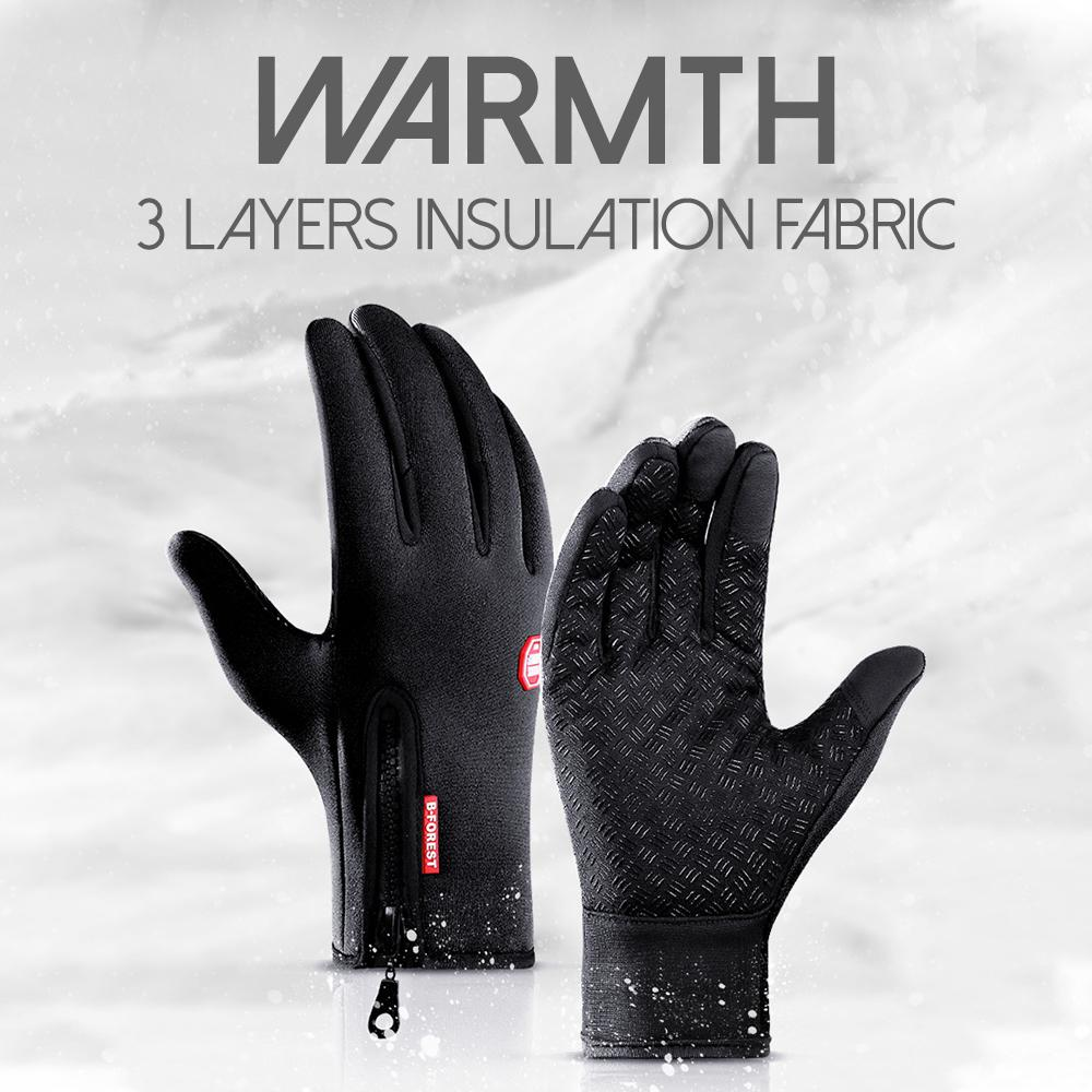 Water Repellent Thermal Gloves