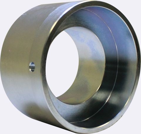 Chrome Roll Idler Pulley