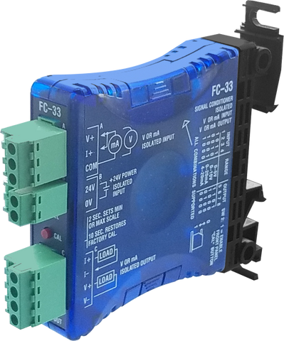 DC Selectable Input, Isolated Signal Conditioner