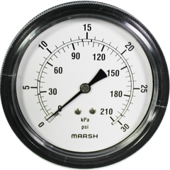 Marsh Air Pressure Gauge 0-30PSI