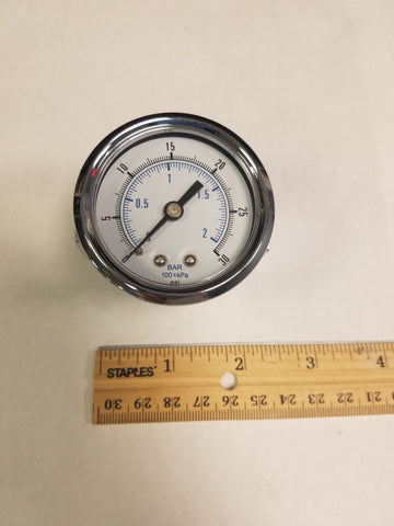 2 Inches Dial Indicator, 0-30 PSI