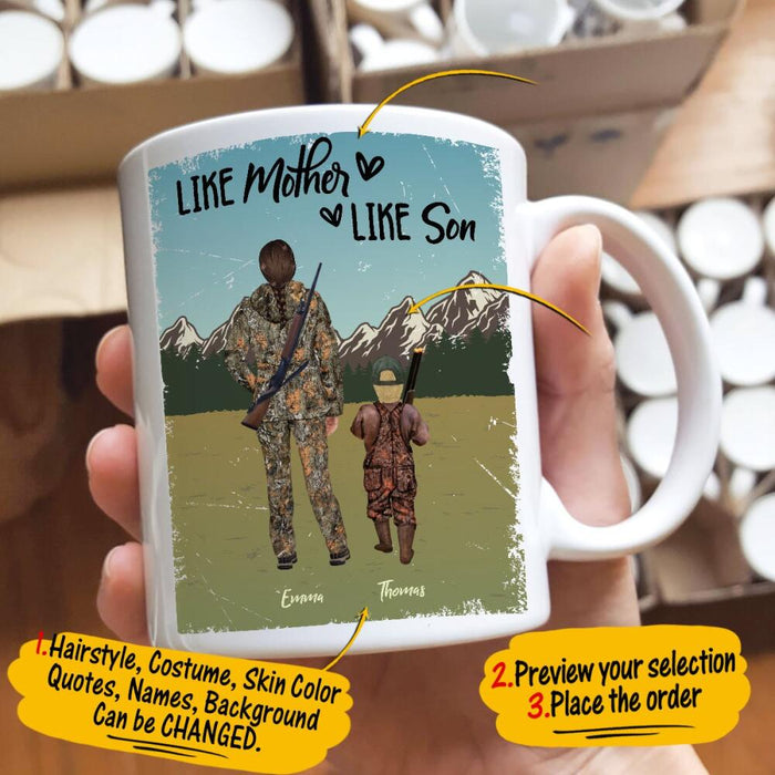 Custom Like Father Like Daughter 11Oz, 15Oz Ceramic Mug