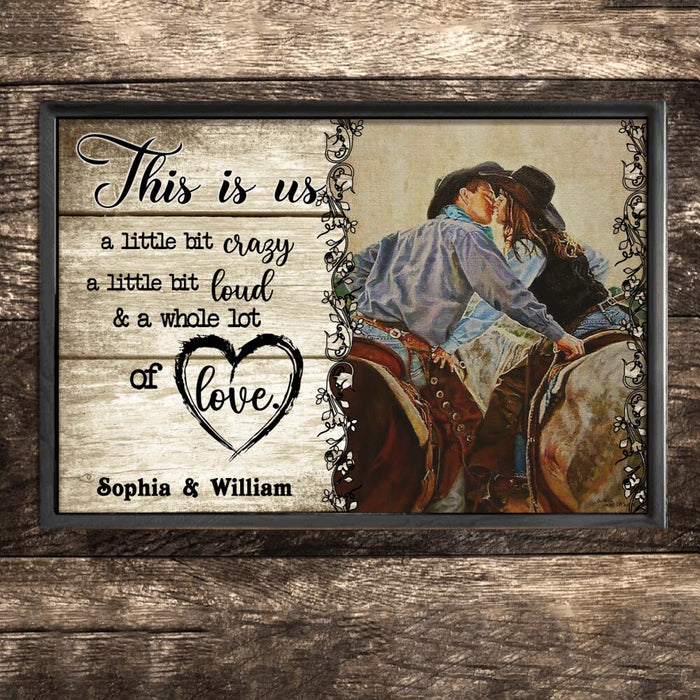 Custom Horse This Is Us Wall Art Print Poster