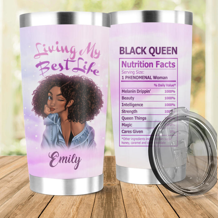 Custom Living My Best Life 20Oz, 30Oz Stainless Steel Tumbler