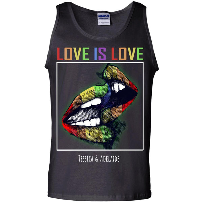 Custom Love is Love Front Printed T-Shirt