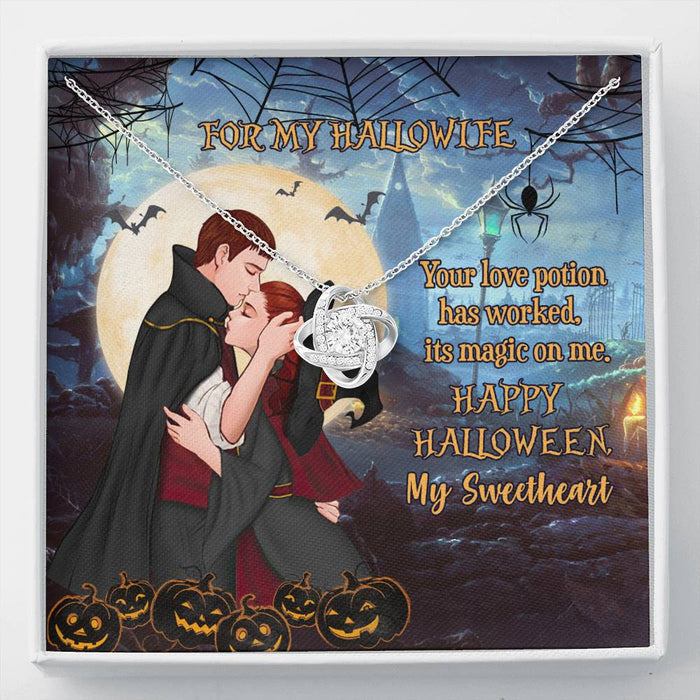 To my hallowife