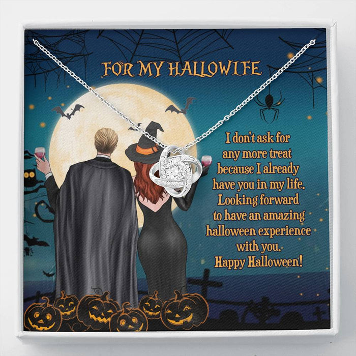 For my hallowife