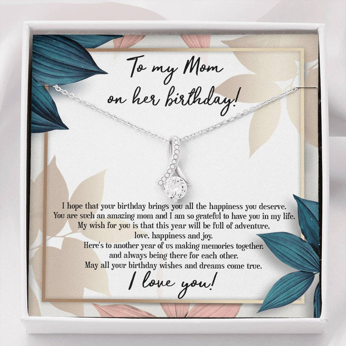 To My Mom on her Birthday