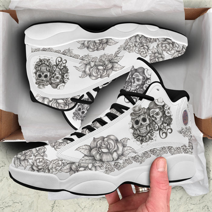Skull love Air Jordan 13 Sneakers