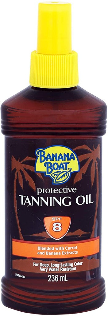 BANANA BOAT SPF8 TAN OIL 236ML