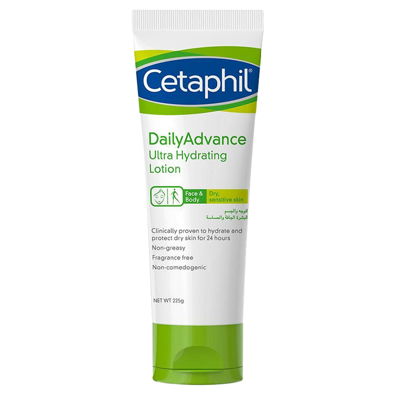 CETAPHIL D/A ULTRA HYDRATING LOT 225 GM