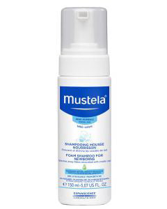 Mustela Foam Shampoo For New Borns 150ml