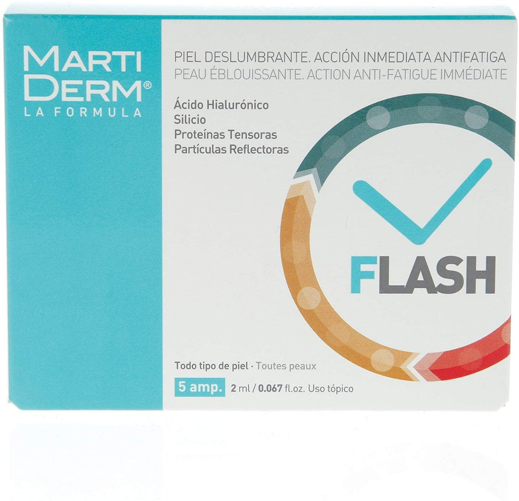 Martiderm Flash Ampoules Anti-fatigue 5x2ml