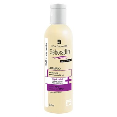SEBORADIN OILY HAIR SHAMPOO 200 ML