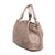 045-04 Italian Taupe Hand Woven Leather Shoulder Bag, by Vittoria Pacini