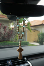 Load image into Gallery viewer, Sea Glass Car Charm