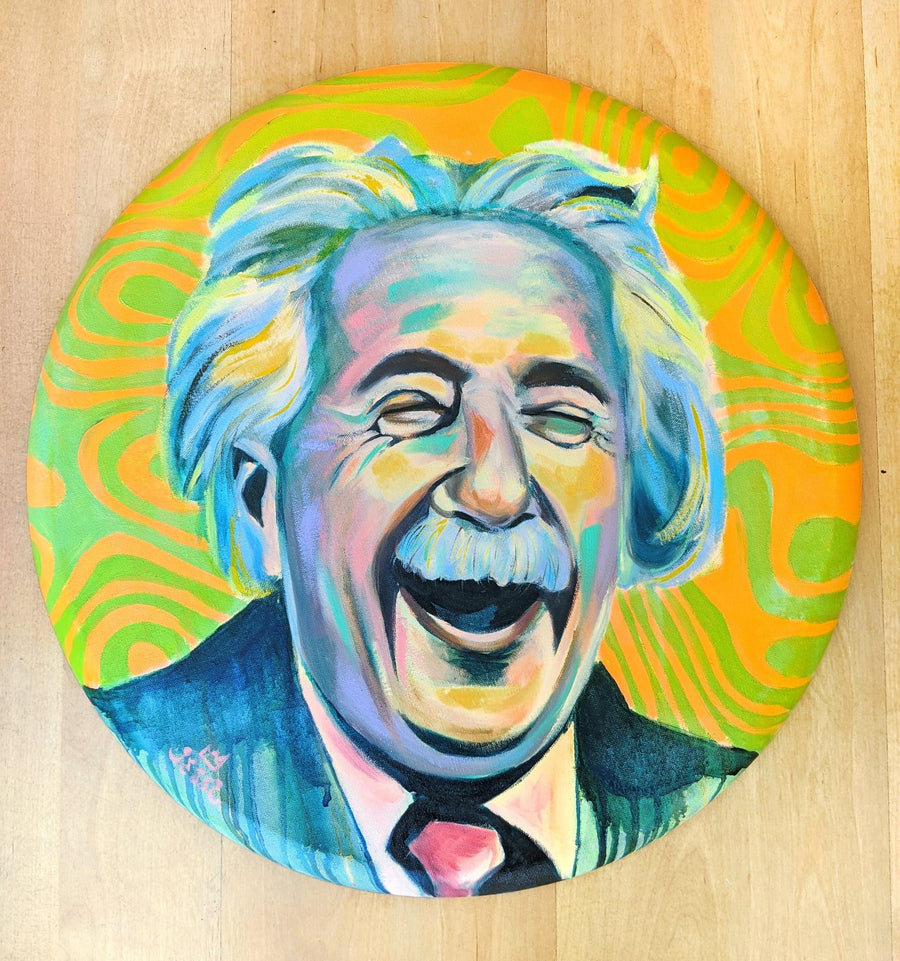 Happy Einstein