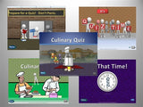 "KlickerZ Culinary and General Education PowerPoint Quiz Templates ""DOWNLOAD ONLY"""