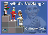 "KlickerZ Culinary  PowerPoint Quiz Template ""DOWNLOAD ONLY"""
