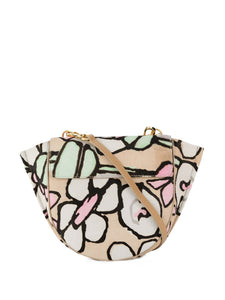 HORTENSIA MINI TEXTURED FLORAL BAG