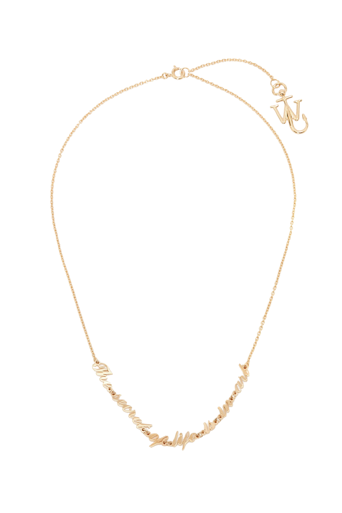 OSCAR WILDE NECKLACE IN GOLD