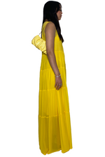 Load image into Gallery viewer, BENEDETTA DRESS IN LIMONE