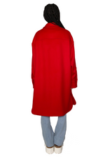 Load image into Gallery viewer, KERRY WOOL COAT IN RED