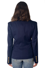 Load image into Gallery viewer, SINGLE BREASTED BLAZER IN NAVY