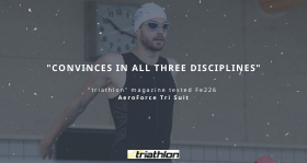 """tri-mag.de  tri-mag.de is well-known as the """"insider, coach & expert"""" in triathlon. They have been convinced by the Fe226 AeroForce Tri Suit."""