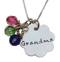 Load image into Gallery viewer, Personalized Flower Necklace