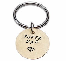 Load image into Gallery viewer, Personalized Hand Stamped Keychain
