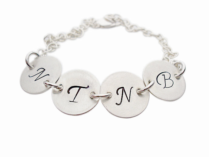 Personalized Textured Necklace