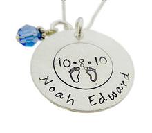 Load image into Gallery viewer, Personalized Birth Details Necklace