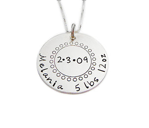 Personalized All the Details Necklace