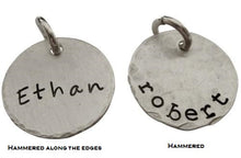 Load image into Gallery viewer, Personalized Hand Stamped Name Charm